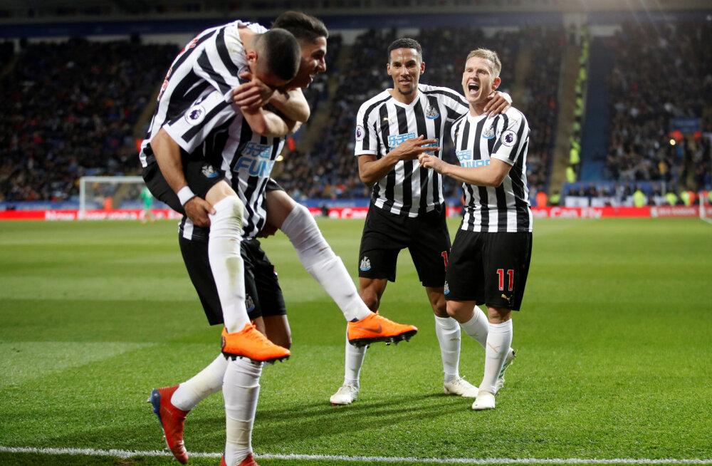 Newcastle tähistab Ayoze Perezi väravat