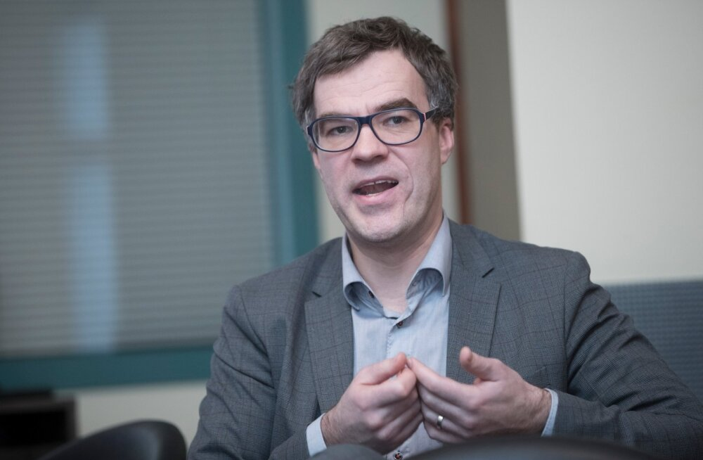 Rail Balticu projekti MKMi koordinaator Kristjan Kaunissaare