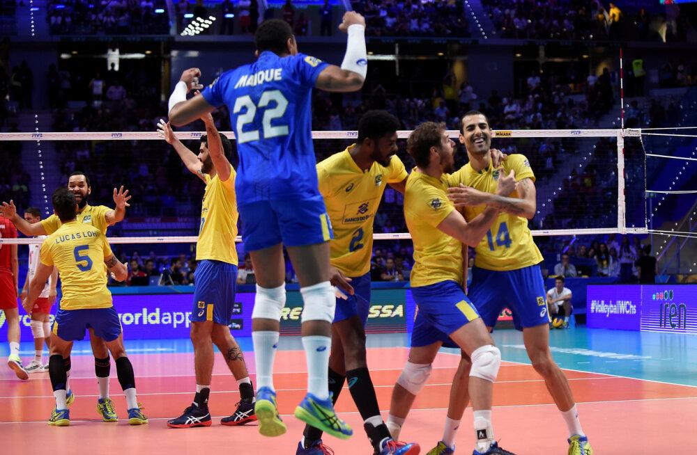 Brasiilia mängib viiendat aastat järjest MM-i finaalis