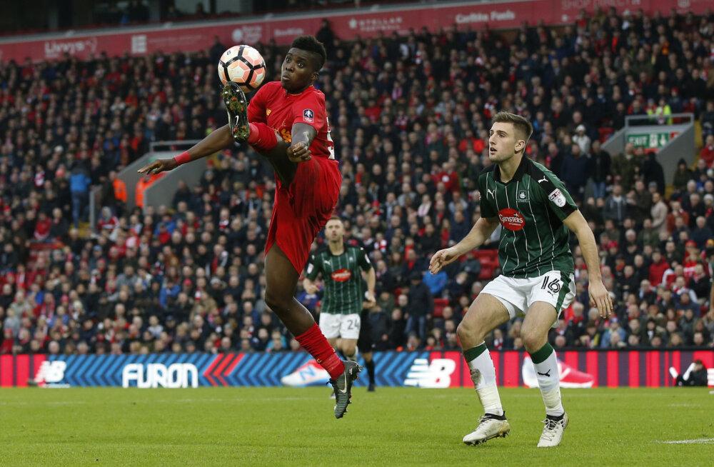Uskumatu! Liverpool ei saanud karikasarjas neljanda liiga klubist jagu
