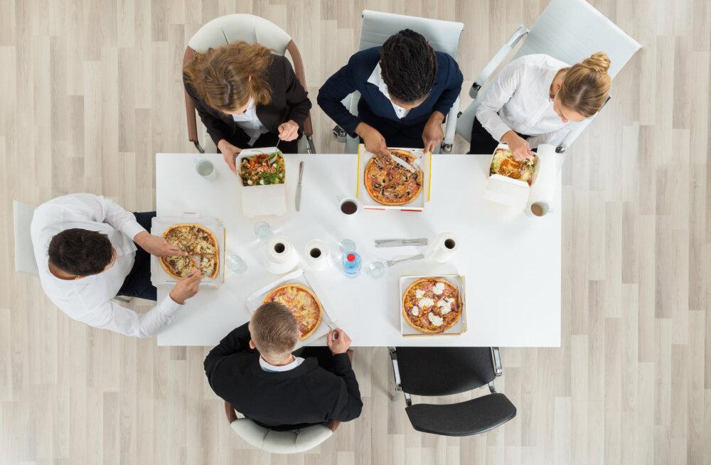 Ettevõtte kalleim vara on tema töötajad! Kuidas toitumine mõjutab töö produktiivsust?