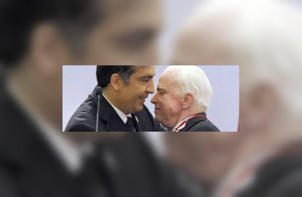 Leiboristid: terroristi Saakašvili tõi võimule McCain