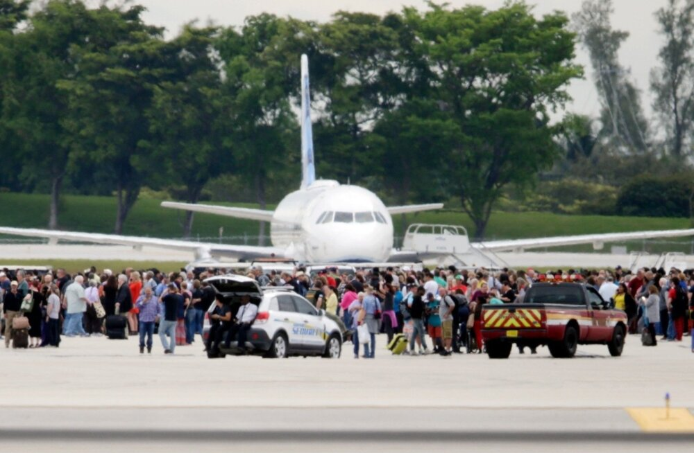 ФОТО и ВИДЕО: Власти сообщили о 37 пострадавших после стрельбы в аэропорту во Флориде