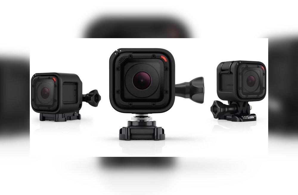 TEST: GoPro seikluskaamera HERO4 Session – mitte nii hea kui mõni suur GoPro, aga mõne selge eelisega
