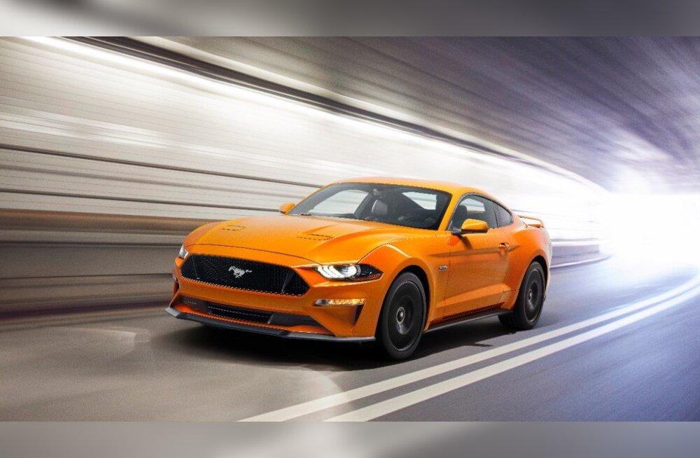 Silm puhkab, hing ihkab: populaarne Ford Mustang on oluliselt värskem