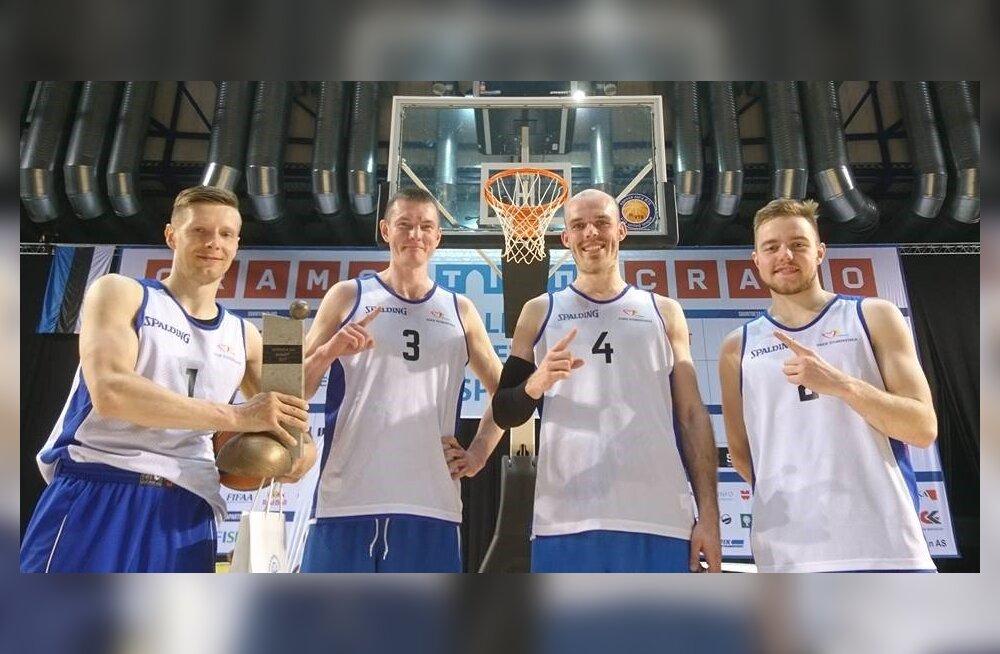 3x3 korvpallikoondis ei pääsenud MMil alagrupist edasi