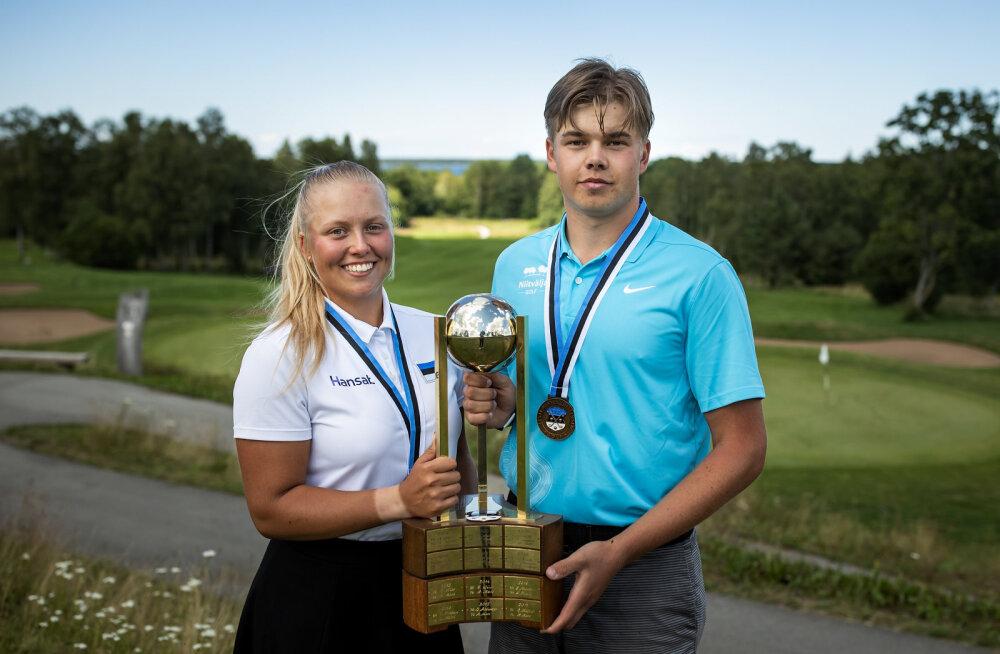 Golfi Eesti meistriteks krooniti Jegers ja Soe