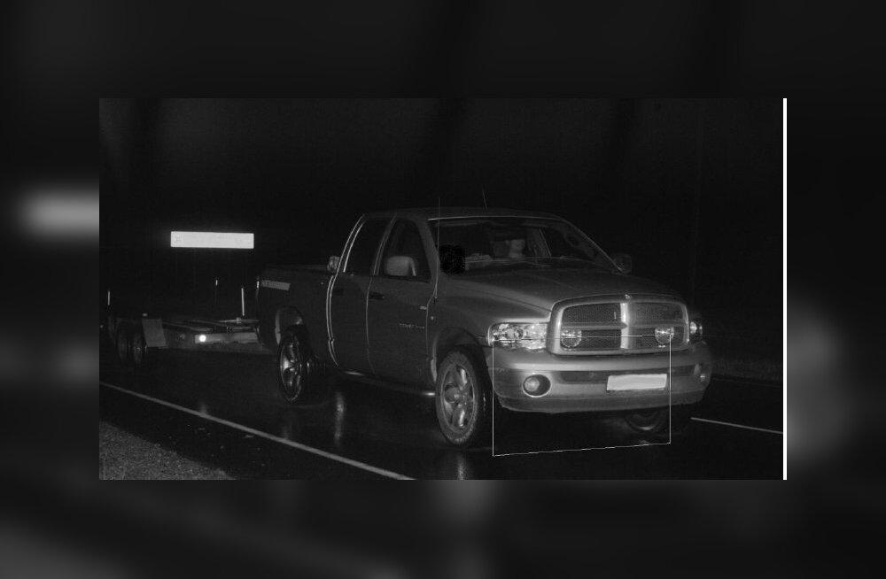Dodge, mida kaamera rekkaks pidas