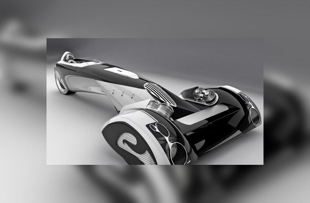 See on üks ulmeline ideeauto. Või on see siiski hoopis tolmuimeja?