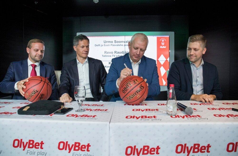 OlyBet Eesti-Läti korvpalliliiga pressikonverents