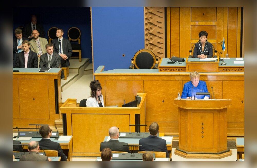 ESMi maksimaalse laenumahu suurendamise ja teise kapitalimakse tegemise otsuse eelnõu läbis esimese lugemise