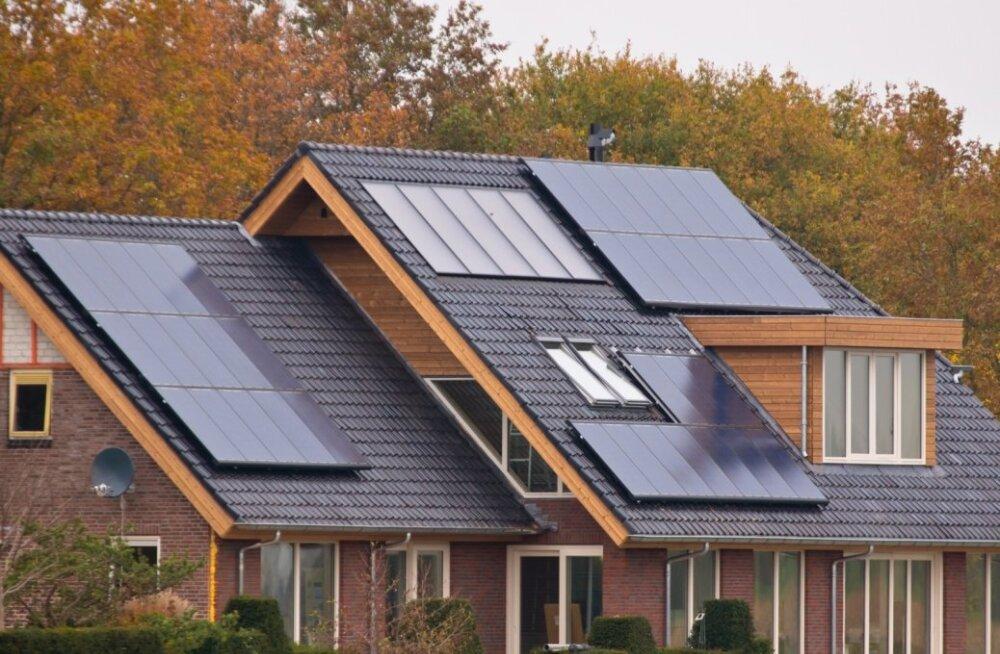 PV-paneelideta ei ole võimalik tagada väikeelamu vastavust liginullenergiahoone nõuetele.