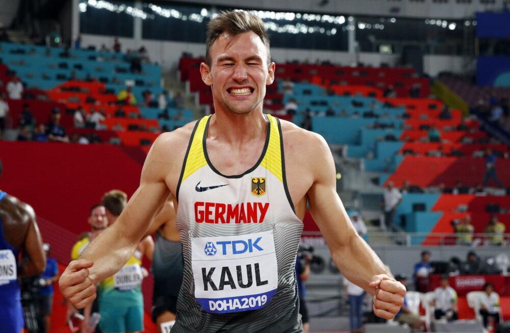 Maailmameistriks kroonitud sakslasest imemees: kartsin enne 1500m jooksu, et rikun ära kogu võistluse