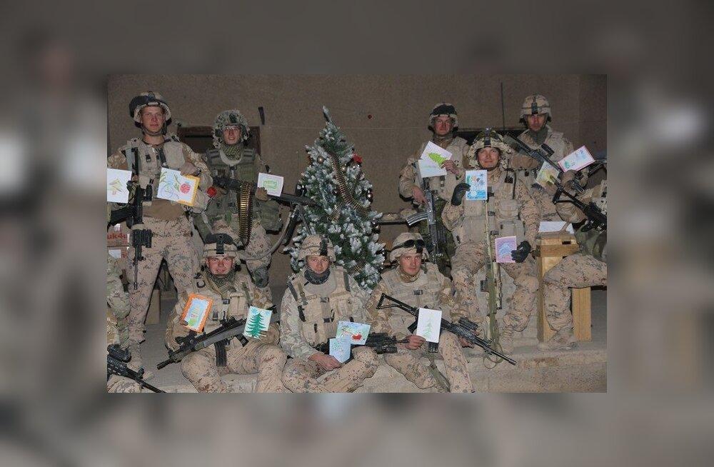 FOTOD: Kaitseväelased Afganistanis võtsid uue aasta vastu teenistuskohtadel