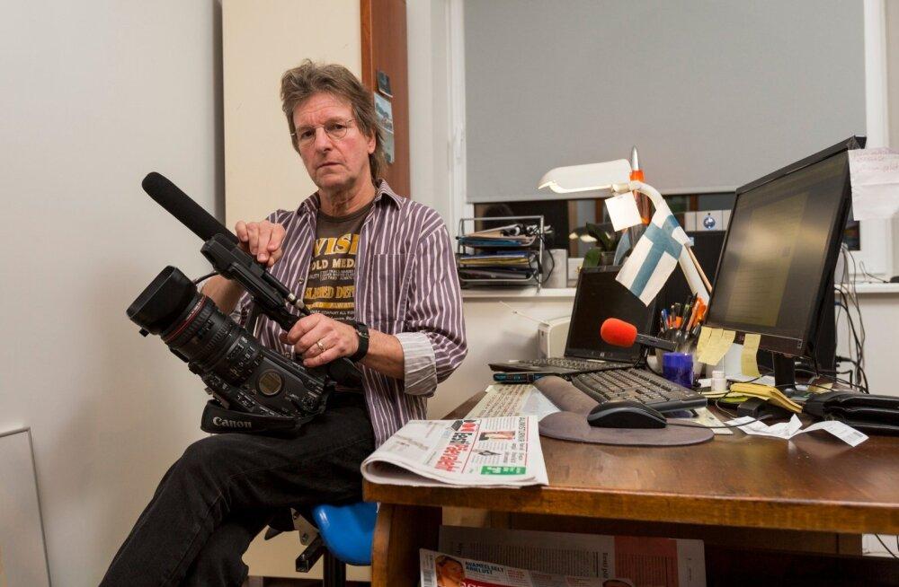 Risto Vuorinen, Soome vabakutseline ajakirjanik Eestis