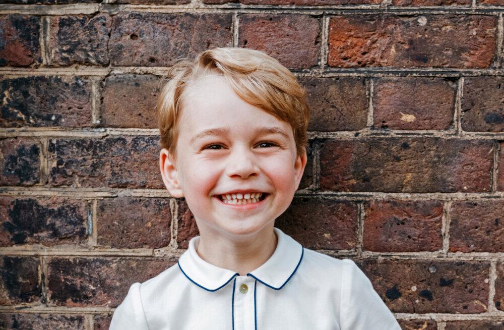 Rahvas marus: Prints William ja hertsoginna Catherine viisid oma 5-aastase poja linde jahtima