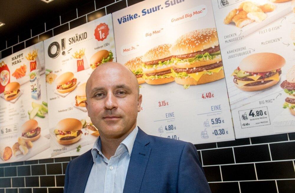 McDonalds' Baltikumi juht: õlle müük pole meie restoranides midagi erakordset, aga muid alkohoolseid jooke pakkuma ei hakka