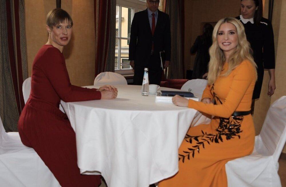 ФОТОНОВОСТЬ: Керсти Кальюлайд встретилась в Германии с Иванкой Трамп