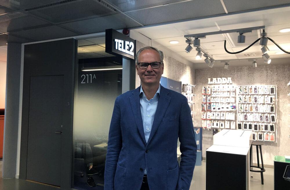 Tele2 uus juht: rootslased on Eesti peale kadedad