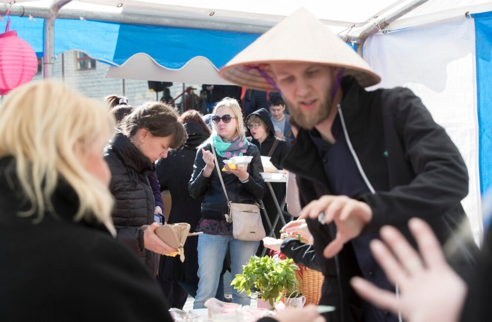 Tallinna Teeninduskooli tänavatoidufestival ajab nii mõnelgi kutsehariduse järele suu vett jooksma.