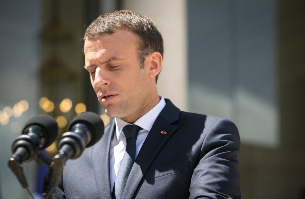 Macron: Venemaaga suhete selgitamise kaudu tuleb ehitada uus julgeolekuarhitektuur