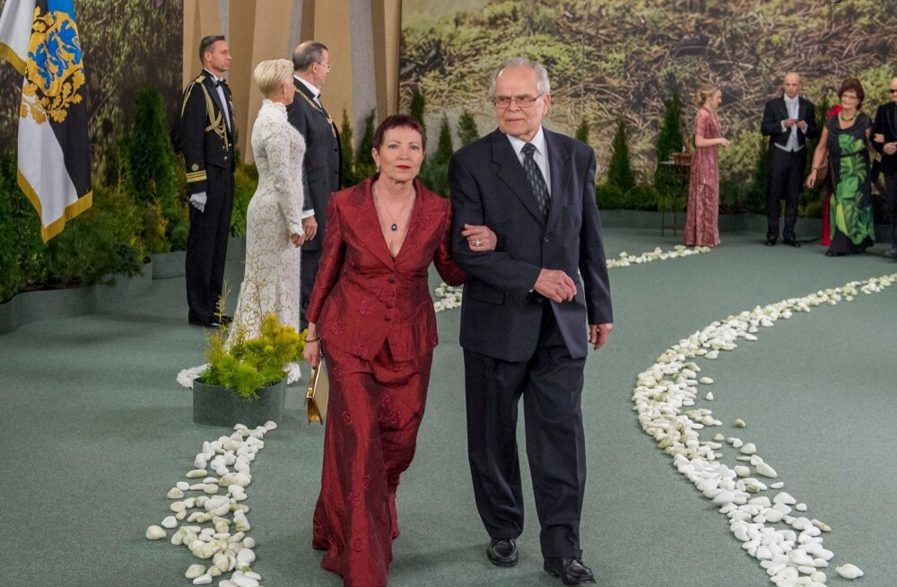 Kersti Kreismann ja Ants Wõrk