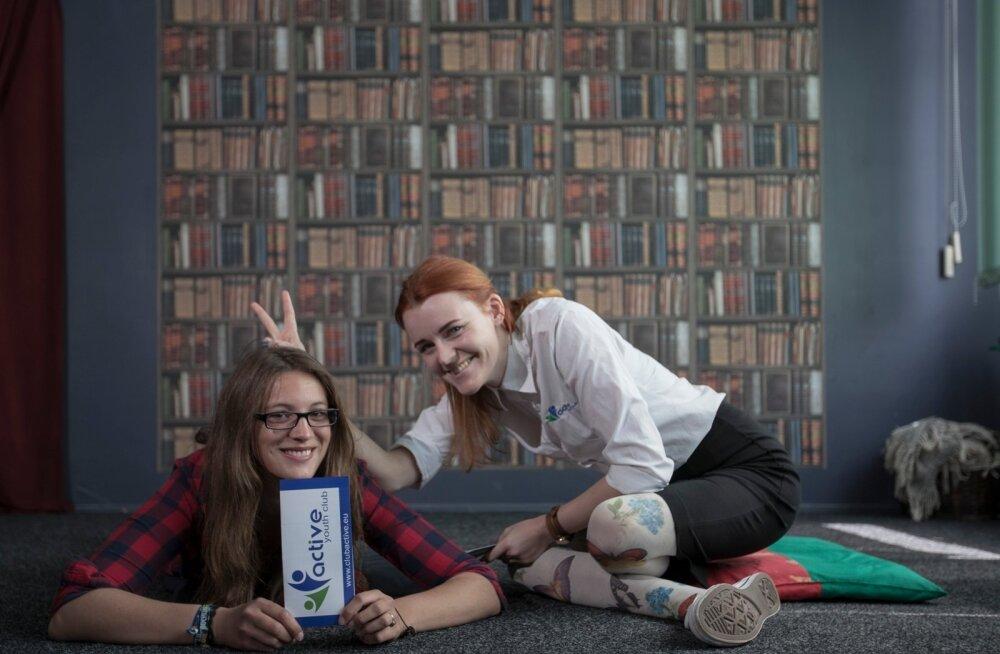 Кира и Дарья, члены Youth Club Active