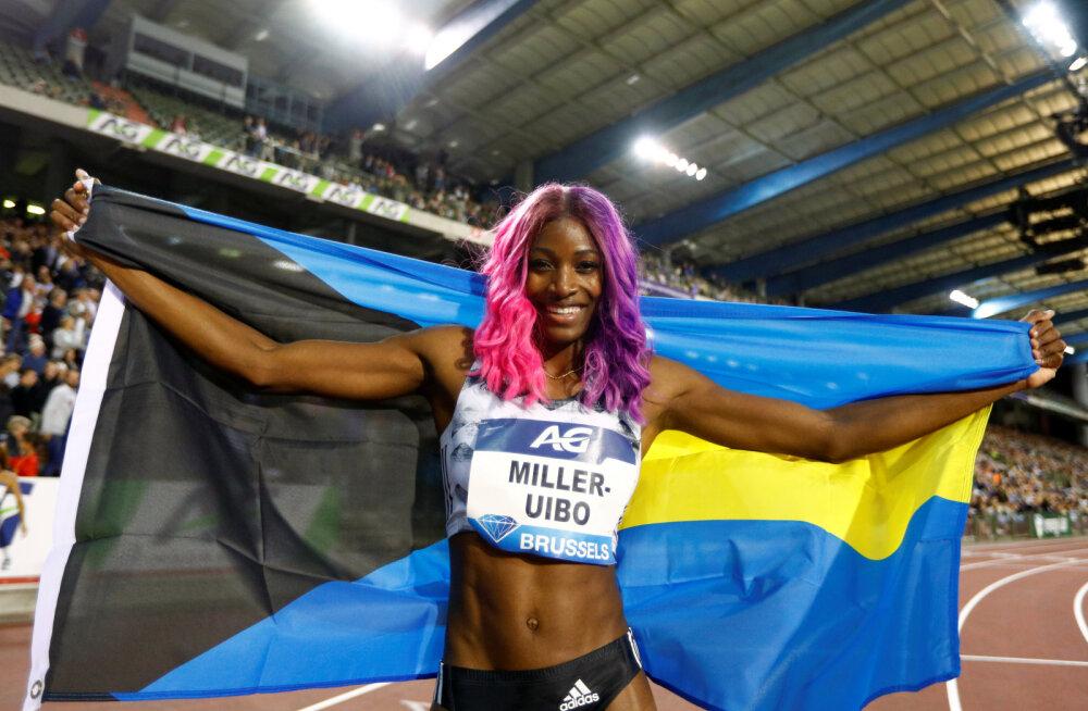 Shaunae Miller-Uibo kandideerib maailma aasta naiskergejõustiklaseks