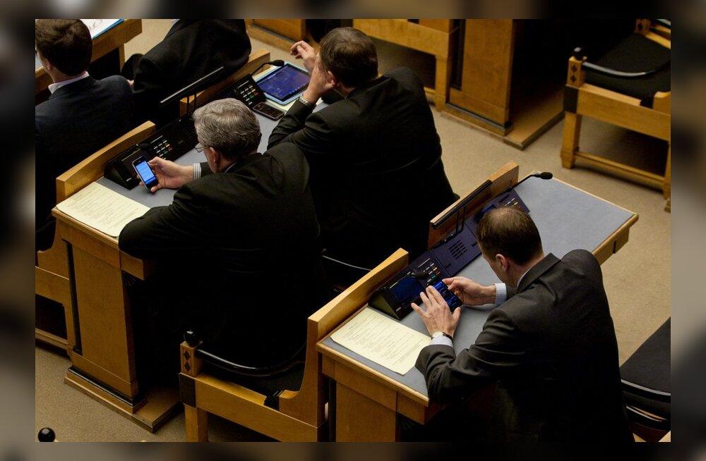 Riigikogulastele hüvitatud kulud: 789 euro eest kirjateenuseid ning 980 euro eest trükiseid