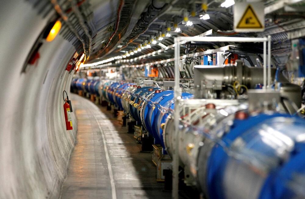 CERN plaanib ehitada uue, eelmisest neli korda suurema osakestekiirendi