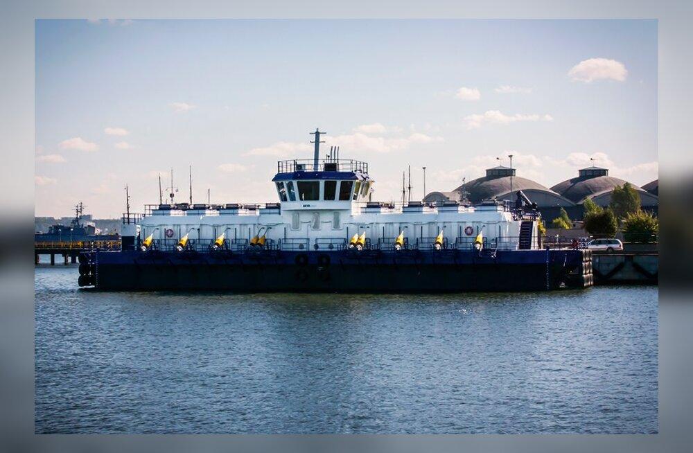 BLRT Grupp завершила строительство крупнейшей в мире баржи для рыборазведения