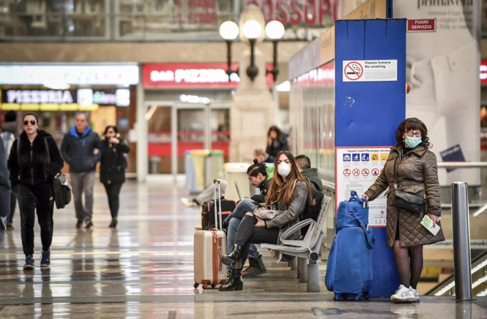 BBC: koroonaviiruse tagajärjel surnute arv kerkis täna Itaalias hüppeliselt. Elu on kaotanud juba 366 inimest