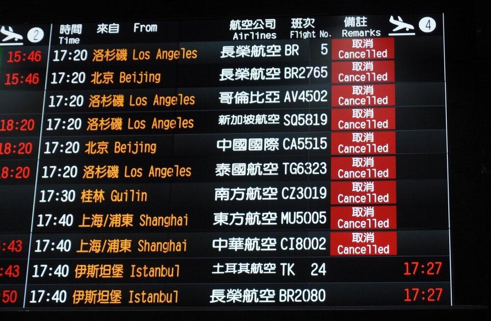 Taiwan on üks riik, mille lennundus- ja turismisektor on juba saanud koroonaviiruse tõttu suure löögi.