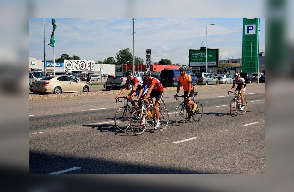 Из-за велозаезда движение в центре Таллинна и районе аэропорта будет затруднено