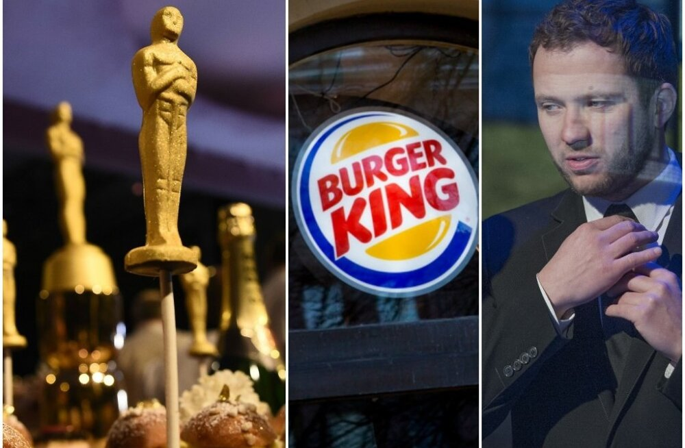 Oscarid, Burger King, IRL