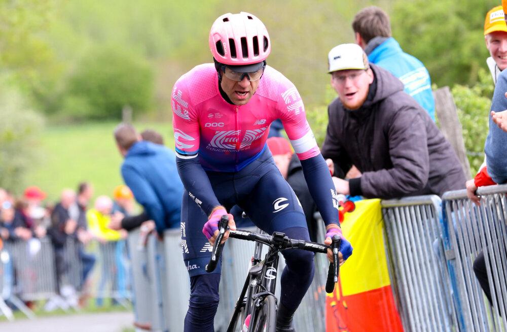 Tanel Kangert lõpetas Romandia velotuuri avaetapi kolmandas kümnes