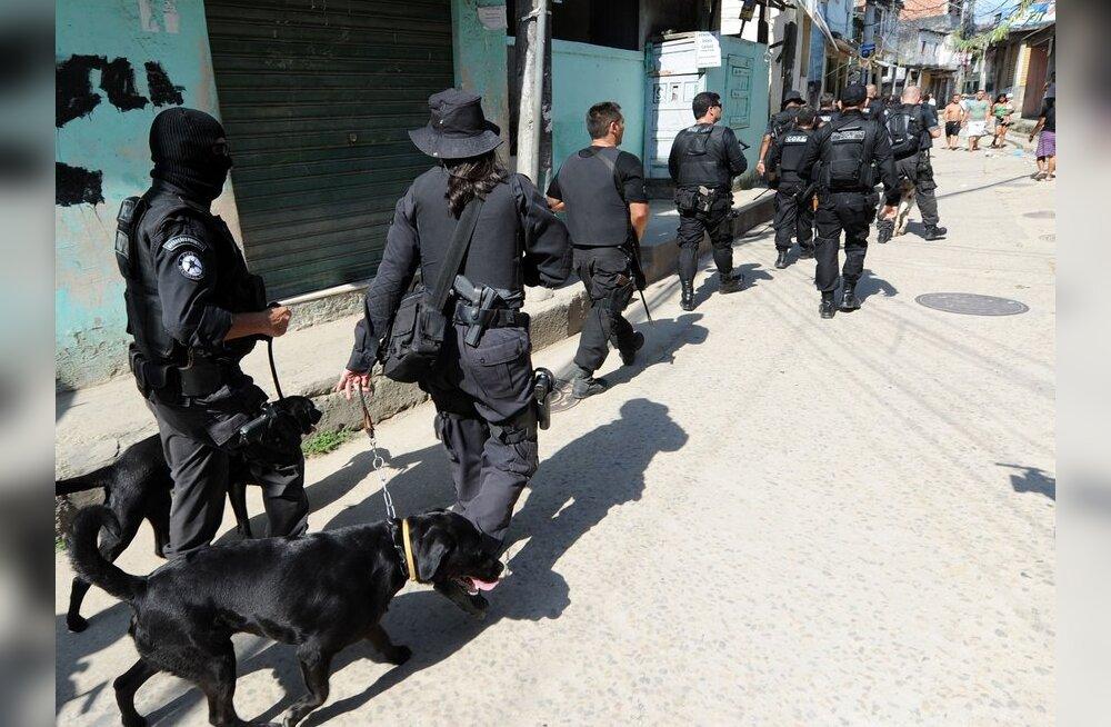 WikiLeaks: Brasiilia maskeerib terroristide vahistamised narkosõjaks