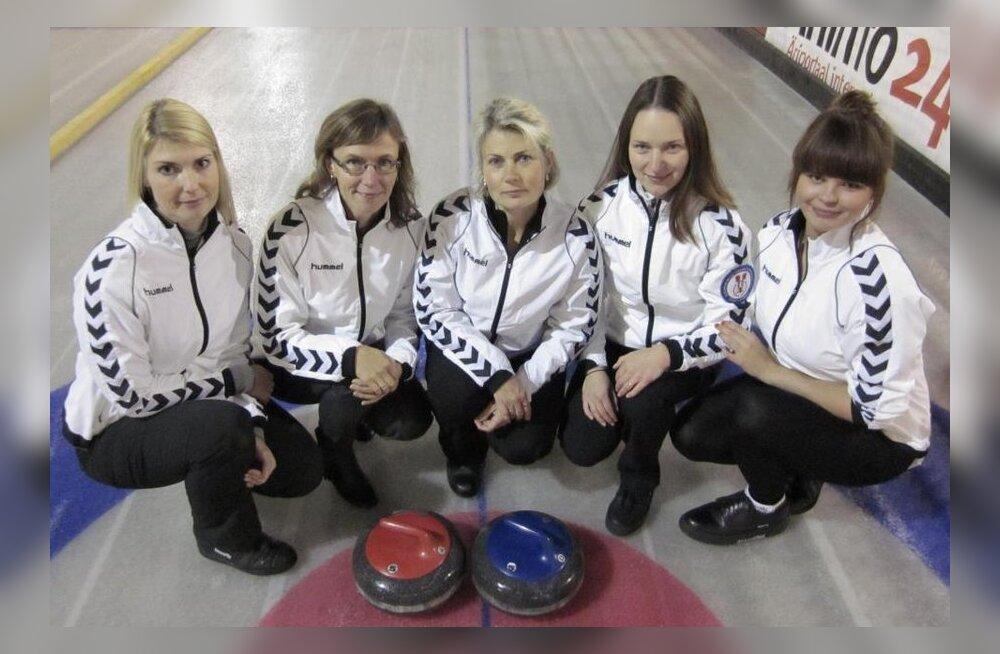 Eesti meisternaiskond 2013, curling