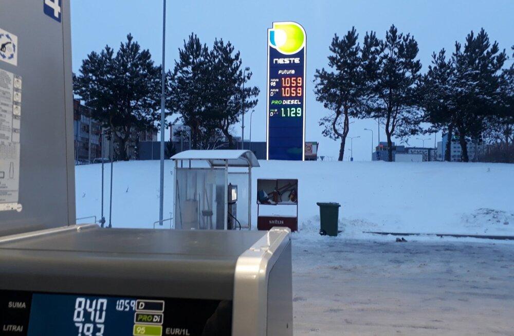 ФОТО: Вот это цены! Смотрите, сколько стоит бензин в Литве
