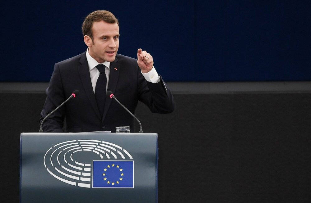 Macron: lõhenemine liberaalse demokraatia ja autoritaarsuse vahel Euroopas on nagu kodusõda