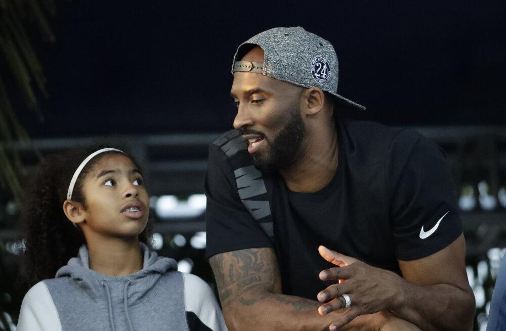 Kobe Bryant ja tema tütar maeti reedel maha