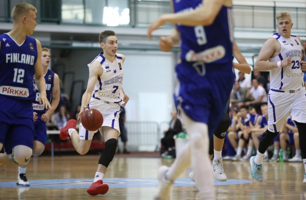 Eesti - Soome U18 korvpall