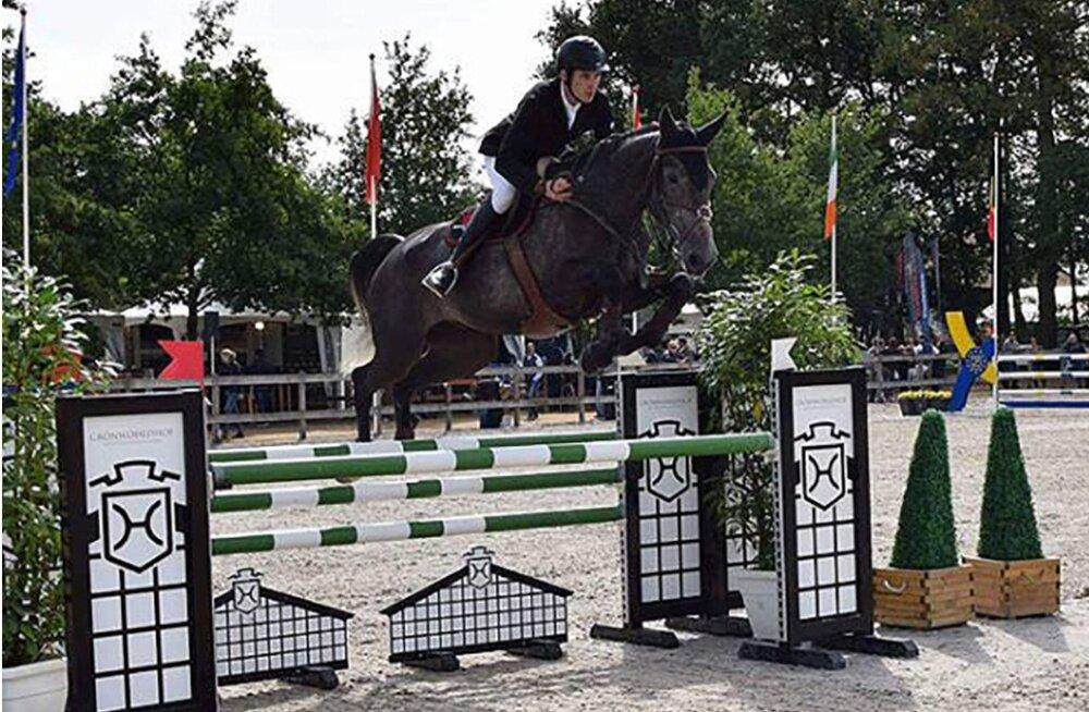 Eestis kasvatatud hobune võitis noorhobuste maailmameistrivõistlustel kuuenda koha