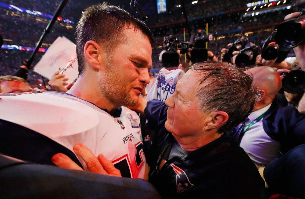 Brady ja Belichick võitsid koos kuuenda Super Bowli, alistades meeskonna, kes poleks pidanud finaali jõudma