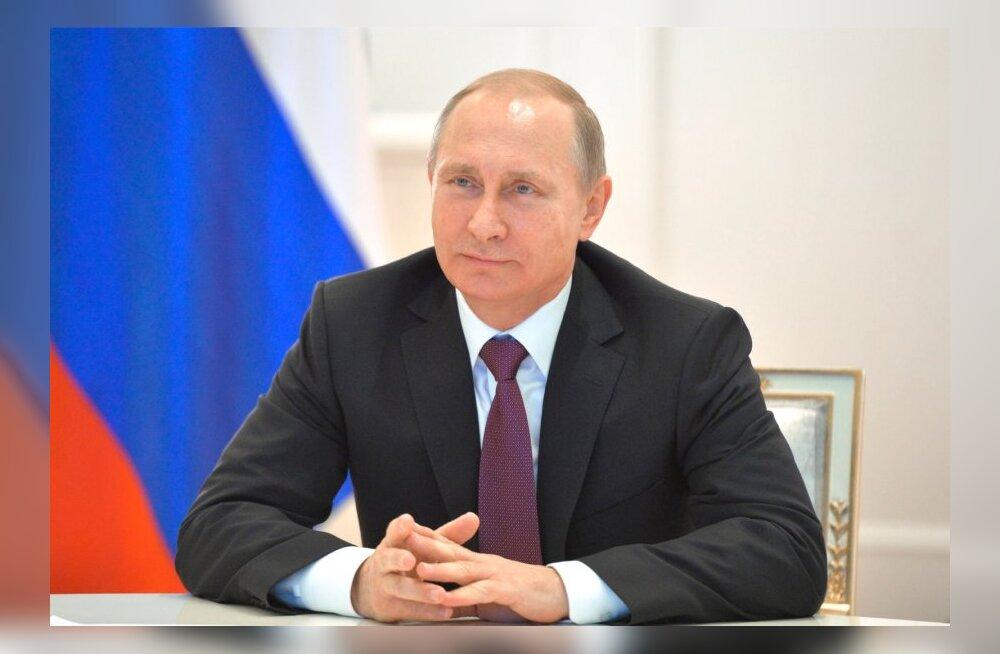 Kremli veebilehe andmetel Putin Balti riikide juhte uue aasta puhul ei õnnitlenud
