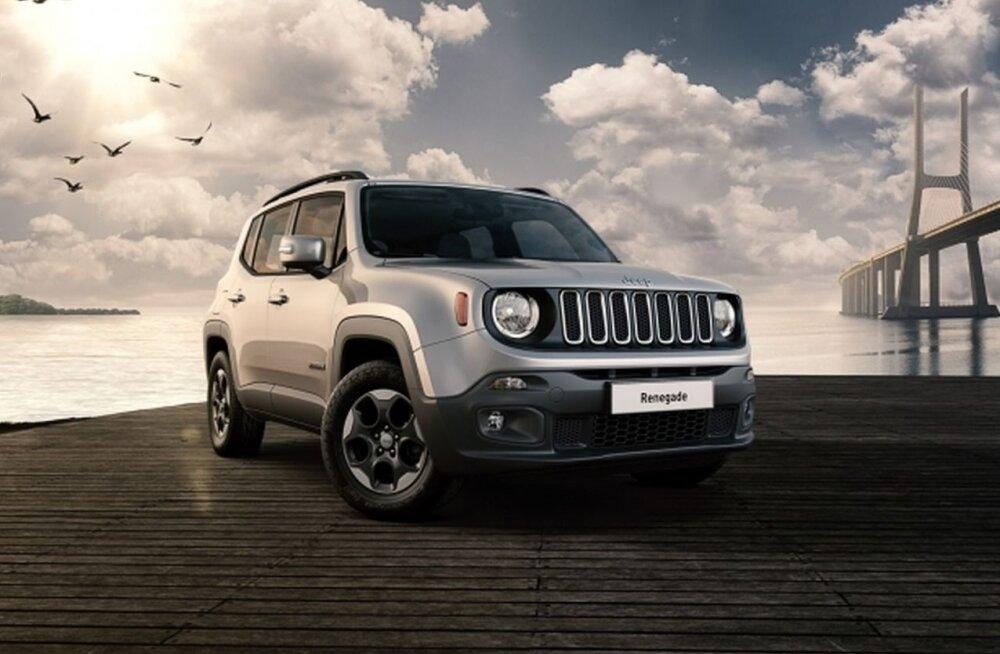 PROOVISÕIT | Tuttavana tunduv Jeep Renegade