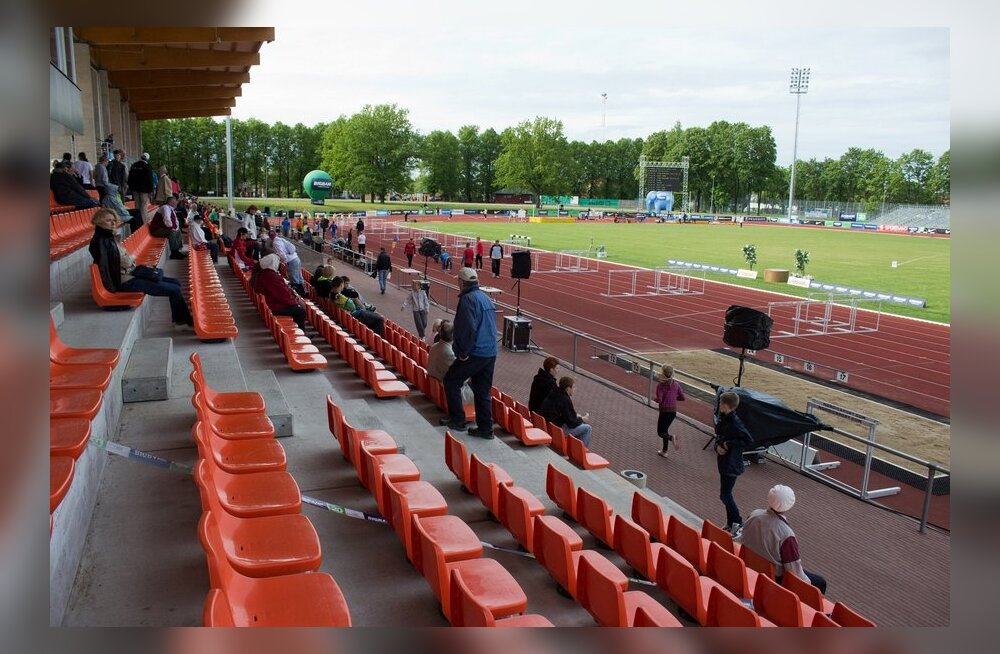 Kuldliiga etapp Tamme staadionil, kergejõustik