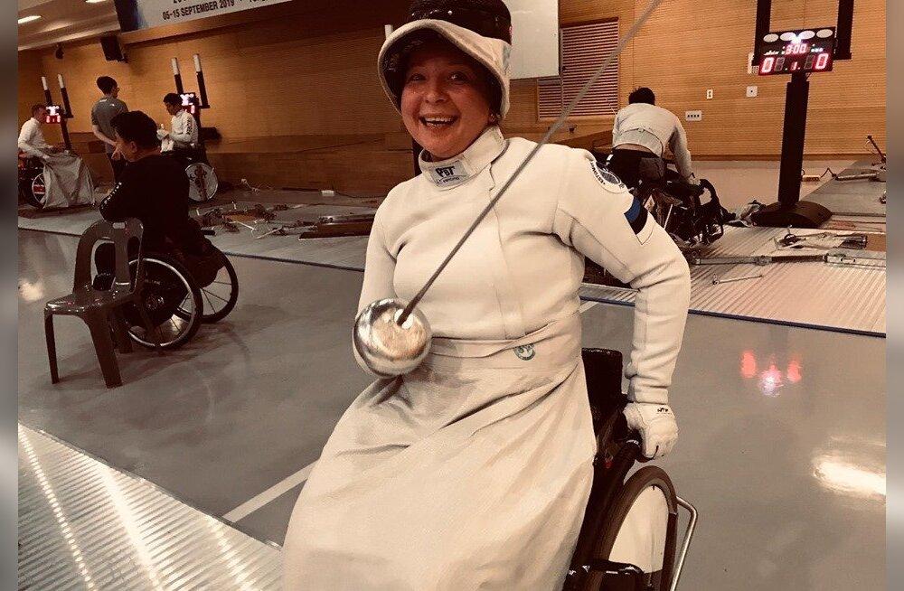 Eesti ainus naisratastoolivehkleja läheb MMile olümpiapääset püüdma
