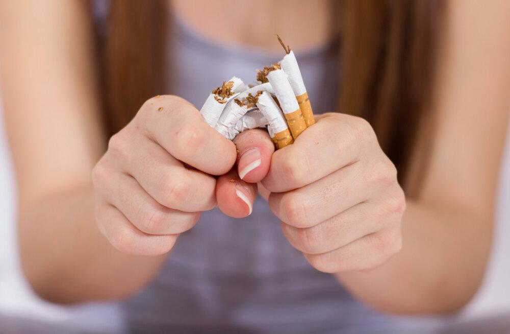 Suitsetamisest loobumine kasvatab tervete kopsurakkude arvu hüppeliselt