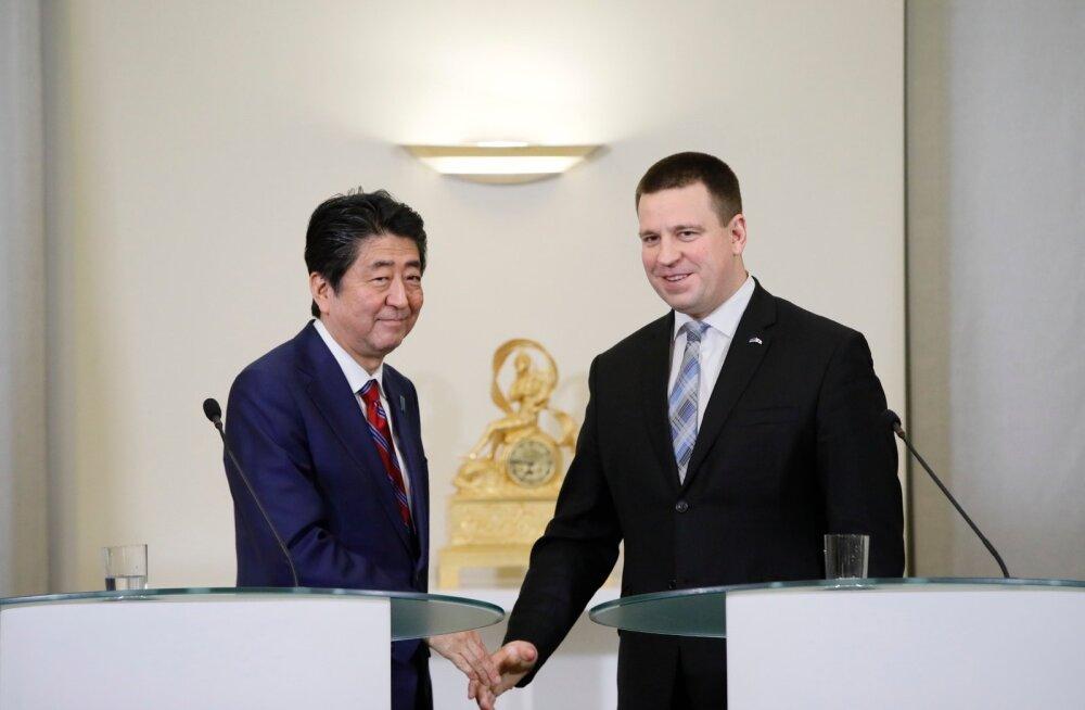 Eestis elav jaapanlane Shinzo Abe visiidist: nüüd tahavad paljud jaapanlased Eestimaad avastada